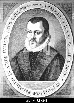 FRANÇOIS Du Jon (1545-1602) Teólogo francés Imagen De Stock
