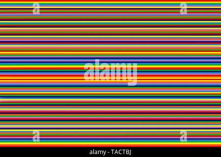Arte moderno equipo pinturas digitales hipnotizador imaginación creativa colorida vhm línea 14/11/2014. Imagen De Stock