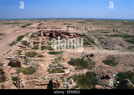 Siria dura europos villa greco-romano (iv sec.ac) Imagen De Stock