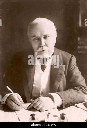 HENRY CAMPBELL-Bannerman (1836-1908) estadista Liberal Británico como primer ministro de 1905 Imagen De Stock