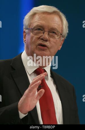 DAVID DAVIS MP, 2017 Imagen De Stock