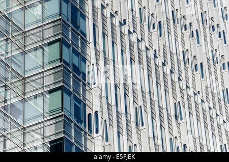 La arquitectura moderna de Shanghai, China Imagen De Stock