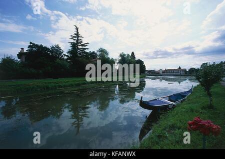 Veneto Riviera del Brenta mira mira porte Imagen De Stock