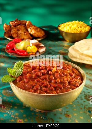 RAJMA curry indio Imagen De Stock