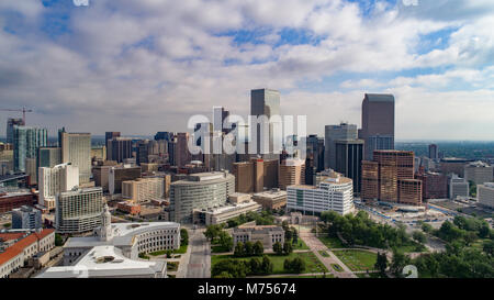 El centro de Denver, Colorado, en 2017 Imagen De Stock
