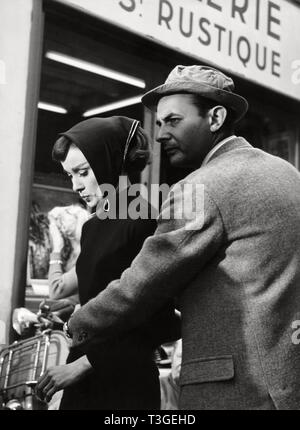 Cara graciosa Año: 1957 Estados Unidos Stanley Donen, Audrey Hepburn director Stanley Donen imágenes Imagen De Stock