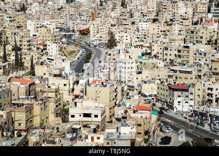 Paisaje urbano, Ammán, Jordania Imagen De Stock