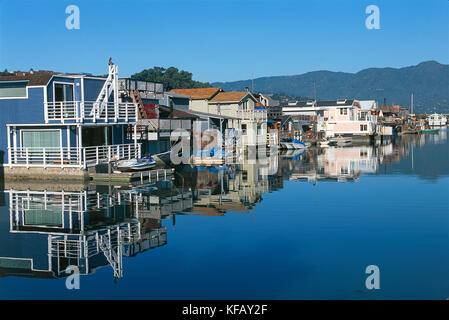 Estados Unidos de América del Norte de California de la bahía de San Francisco, Sausalito caja de agua Imagen De Stock
