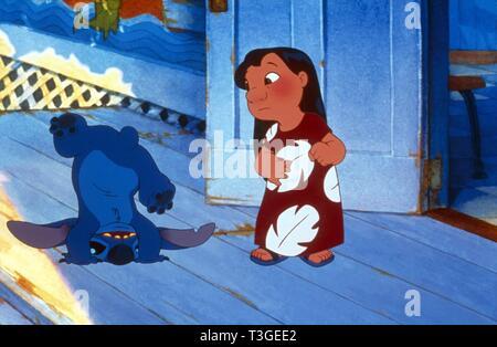 Lilo y Stitch EE.UU. Año: 2002 Director: Dean DeBlois, Chris Sanders Animación Imagen De Stock