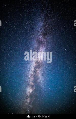 Vía Láctea y el cielo estrellado. Imagen De Stock