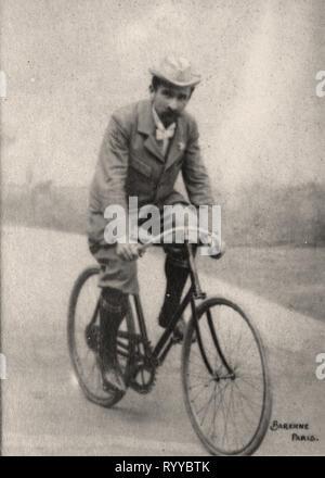 Retrato fotográfico de Rivierre Colección de Félix Potin, de principios del siglo XX. Imagen De Stock