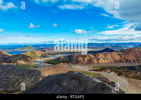 Landmannalaugar Islandia montañas Imagen De Stock