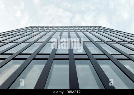 Arquitectura moderna, Hamburgo, Alemania. Imagen De Stock