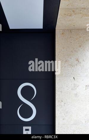 Construcción de gráficos. 8 Bloomsbury, Londres, Reino Unido. Arquitecto: Buckley gris Yeoman, 2017. Imagen De Stock