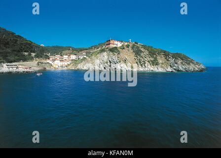Isla de Toscana el traje gorgona Imagen De Stock