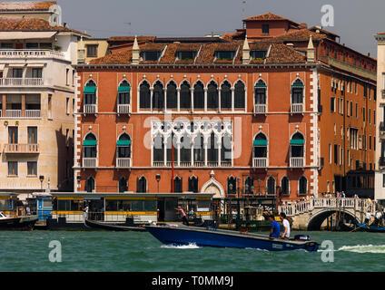 El Danieli Hotel, región del Veneto, Venecia, Italia Imagen De Stock