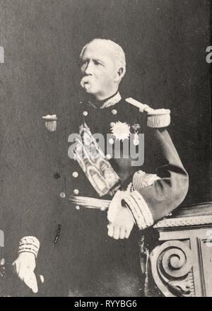 Retrato fotográfico de Mac Mahon desde la colección Félix Potin, de principios del siglo XX. Imagen De Stock