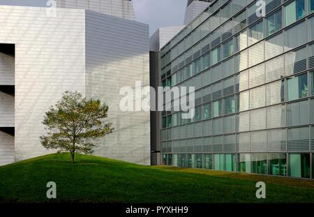 Laboratorio de Biología Molecular MRC, en Cambridge, Inglaterra, edificio del campus biomédico Imagen De Stock