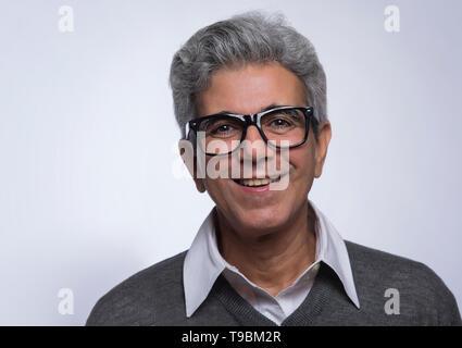 Retrato del hombre senior Imagen De Stock