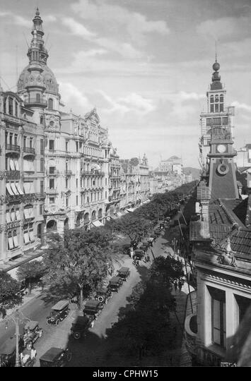 Vista de Río de Janeiro, 1930 Fotografía de stock - Alamy