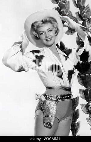 ANNE (1934-2019) de Neyland actrice américaine liée de façon romantique avec Elvis Presley Photo Stock