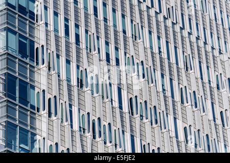 L'architecture moderne de Shanghai, Chine Photo Stock