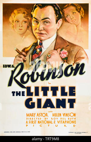 La Little Giant 1933 Warner Bros film avec Edward G. Robinson Photo Stock