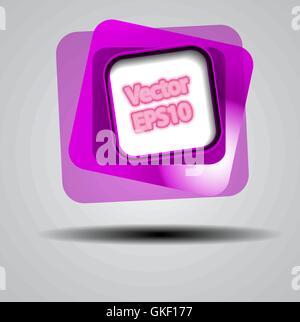 Résumé fond de carrés de couleur. Photo Stock