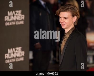 « Maze Runner: la peine de guérir' film premiere. Photo Stock