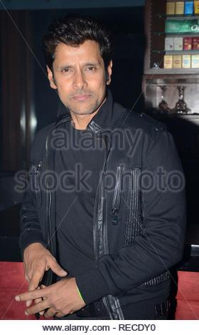 Acteur Tollywood Vikram pendant le lancement de la musique de film à venir David à Mumbai, Inde, le 14 janvier 2013. (Dr Naik/ IMAGES SOLARIS) Photo Stock