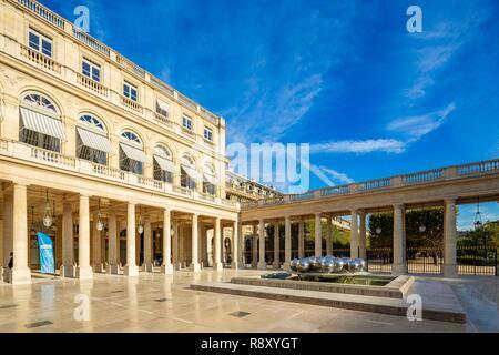 France, Paris, le Palais Royal Photo Stock