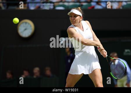 Londres, Royaume-Uni. 1er juillet 2019. : SIMONA, Roumanie, 2019 Allstar Crédit: photo library/Alamy Live News Photo Stock