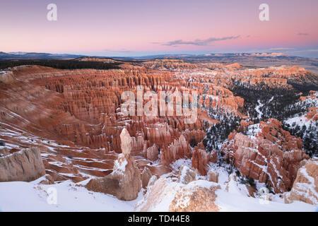 Bryce Canyon National Park, Utah, États-Unis d'Amérique, Amérique du Nord Photo Stock