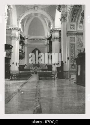 Lazio, Viterbe, Vetralla, Duomo Photo Stock