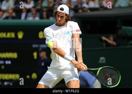 Lloyd Harris Wimbledon 2019 Photo Stock
