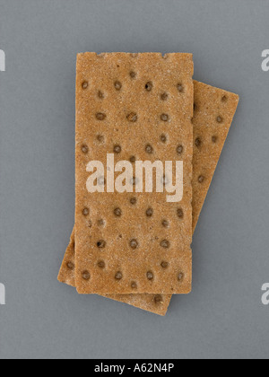 Crispbreads tourné avec professional digital format moyen Photo Stock