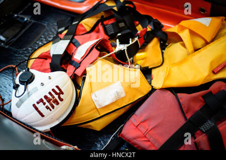 La RNLI (Royal National Lifeboat Institution) Photo Stock
