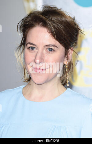 Londres, Royaume-Uni. 10 fév, 2019. Londres, Royaume-Uni. 10 février 2019 : Gemma Whelan arrivant pour le BAFTA Film Awards 2019 au Royal Albert Hall, Londres. Photo : Steve Sav/Featureflash Crédit : Paul Smith/Alamy Live News Photo Stock