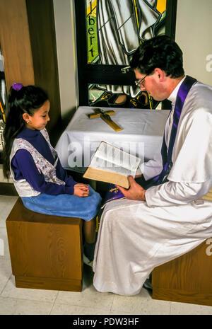 La réconciliation du jeune enfant MR © Myrleen ....Pearson Ferguson Cate Photo Stock