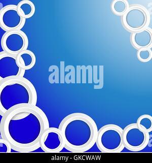 Cercles Arrière-plan Photo Stock