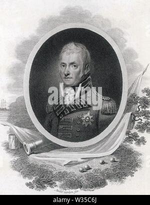 JOHN HOPE, 4e comte d'Hopetoun (1765-1823) Homme politique écossais et officier de l'armée britannique Photo Stock