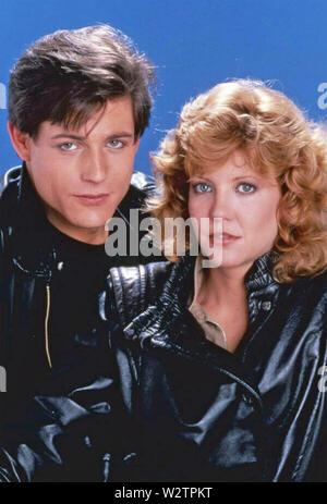 L'EXPÉRIENCE DE PHILADELPHIE 1984 Nouveau monde Photos film avec Nancy Allen et Michael Paré Photo Stock