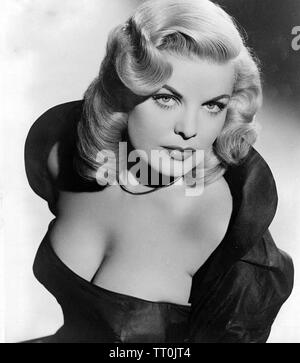 CLEO MOORE actrice américaine Photo Stock