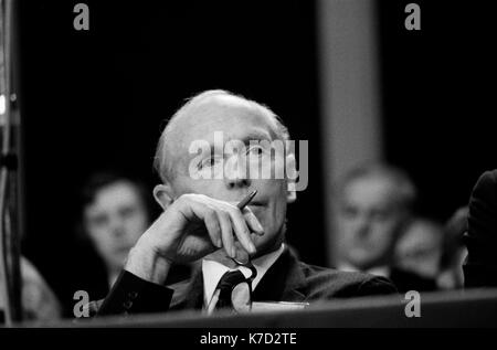 Sir Alec Douglas Home, Parti conservateur Conference Conference hall, jardins d'hiver de Blackpool 1973 UK 1970 Angleterre HOMER SYKES Photo Stock