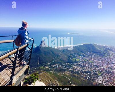Montagne de la table Photo Stock