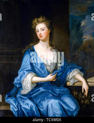 Godfrey Kneller, Sarah Churchill, duchesse de Marlborough, 1660-1744, portrait, vers 1700 Photo Stock