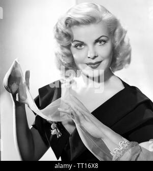 CLEO MOORE (1924-1973) Actrice américaine Photo Stock