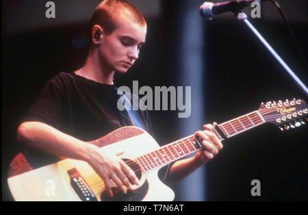 SINEAD O'CONNOR chanteuse irlandaise de 1990 Photo Stock