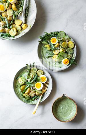 Salade de pommes de terre Déesse Verte Photo Stock