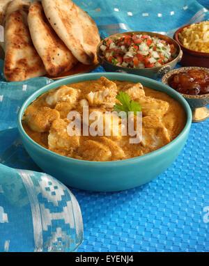 Indien Curry de Poisson Bengali Photo Stock